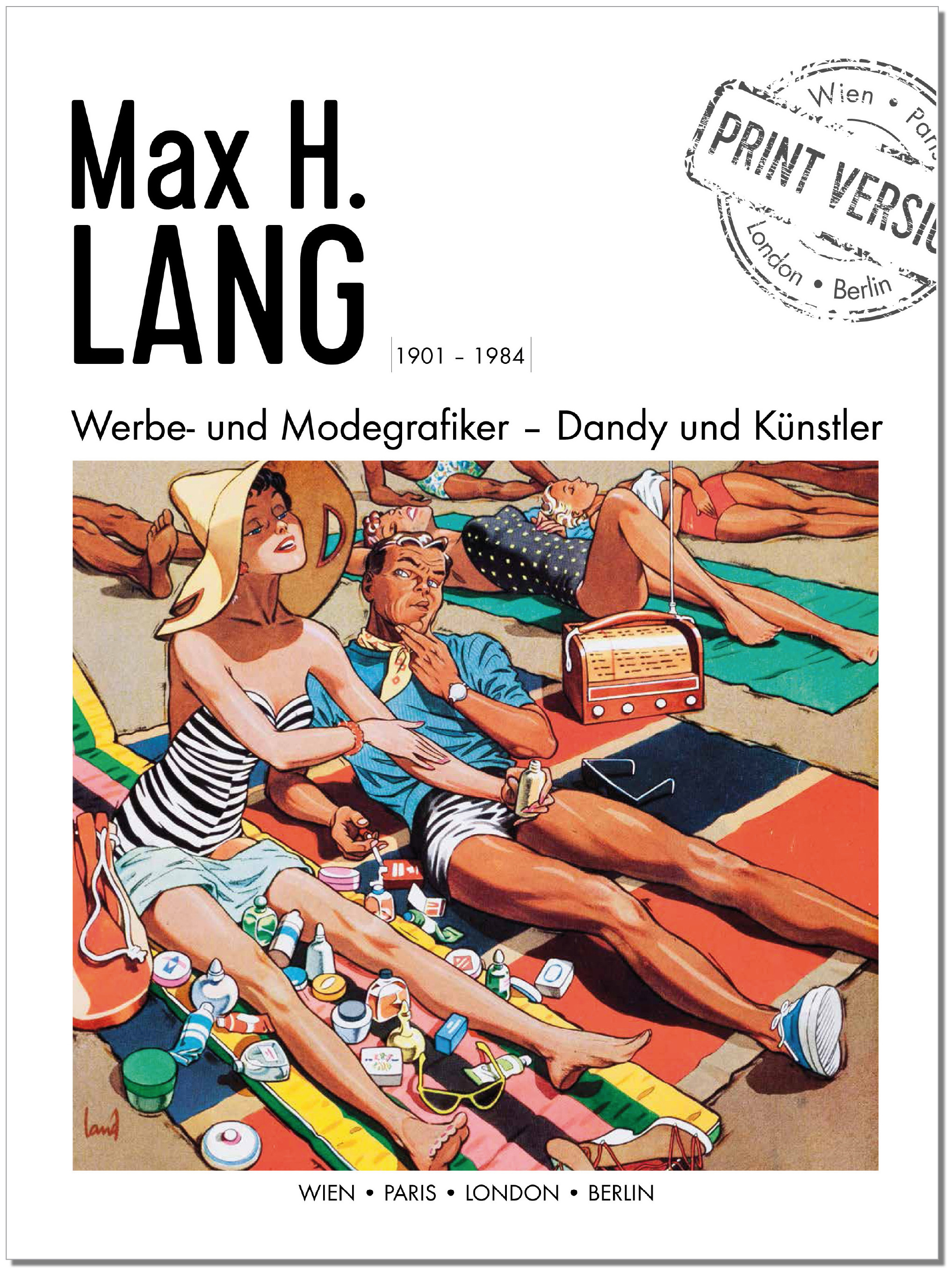 MAX H. LANG _ Cover 1